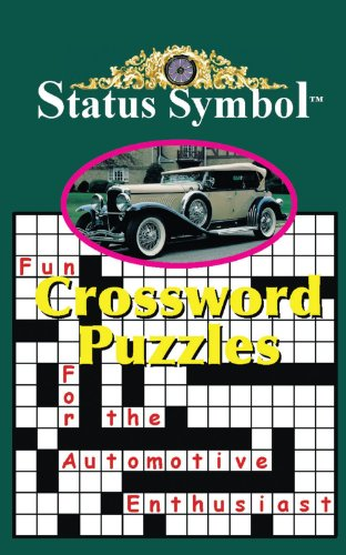 Status Symbol: Crossword Puzzles for the Automotive Enthusiast