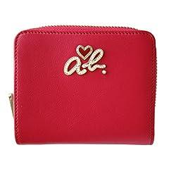 (アニエスベー ボヤージュ) agnes b. VOYAGE レディース 牛革 二つ折り 財布 ピンク