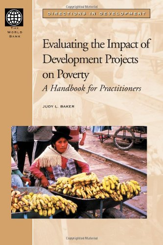 Evaluating The Impact Of Development Projects On Poverty: A Handbook For Practitioners (Directions In Development)