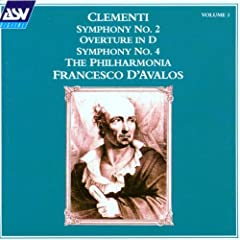 Clementi;Overture in D