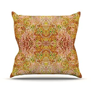 Goldenrod Throw Pillow : Buy Kess InHouse Nikposium