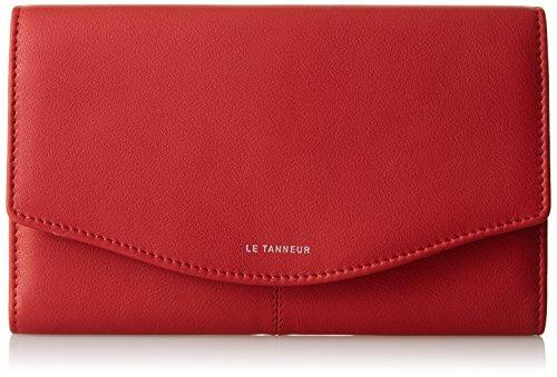 Le tanneur  Valentine, Portafogli  Donna, Rosso (Rouge (R1)), Taille Unique