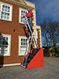 10 Rung 3 Section STAIR Combi-All-In-One Extension Ladder, Step Ladder & Free Standing Ladders