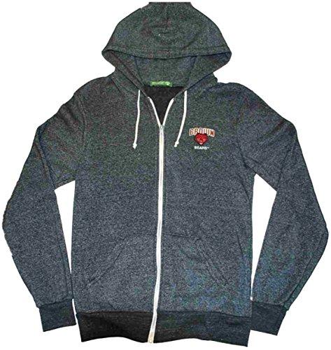 Brown Bears Alternative Earth Gray Zip Up Pocketed Hoodie Sweatshirt (L) (Alternative Zip Up Hoodie compare prices)