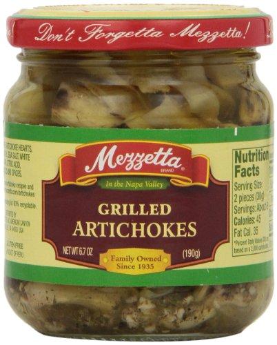 Mezetta, Grilled Artichokes, 6.7 oz (Grilled Artichoke Hearts compare prices)