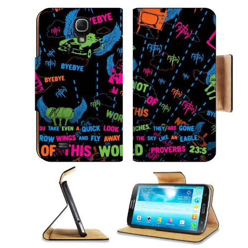 Not Of This World Proverb 23:5 Samsung Galaxy Mega 6.3 I9200 Flip Case Stand Magnetic Cover Open Ports Customized Made To Order Support Ready Premium Deluxe Pu Leather 7 1/16 Inch (171Mm) X 3 15/16 Inch (95Mm) X 9/16 Inch (14Mm) Msd Mega Cover Professiona