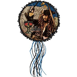 Hallmark - Disney Pirates of the Caribbean 4 Pull String Pinata