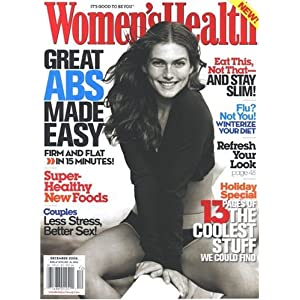 3 Years of Women's Health Magazine