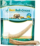 Grade-A Whole Elk Antler Chew: 100% Natural, Long-Lasting, Safe, Odor-Free and Healthy Single Ingredient Dog Treat Made in the USA (Medium (For Up To 40lb Dogs))