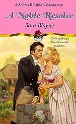 A Noble Resolve (Regency Romance)