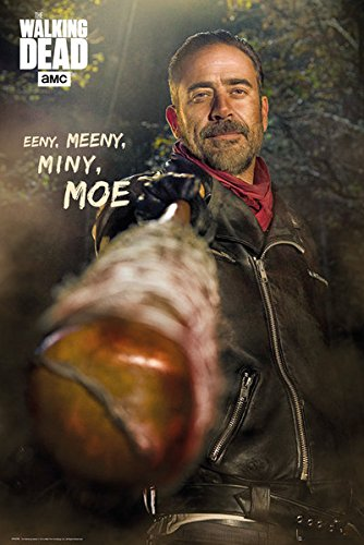 The Walking Dead - TV Show Poster / Print (Negan) (Size: 24