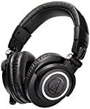 51HDUQDrcAL. SL160  - BESTSELLER UK Audio-Technica ATH-M50X Studio Monitor Professional Headphones - BLACK BEST BUY REVIEW