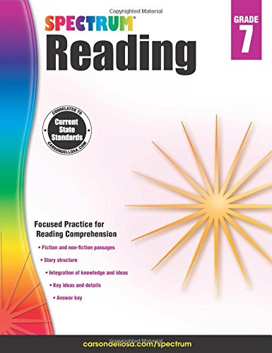 Spectrum Reading Workbook, Grade 7