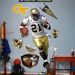 NCAA Georgia Tech Calvin Johnson Wall Graphic by Fathead
