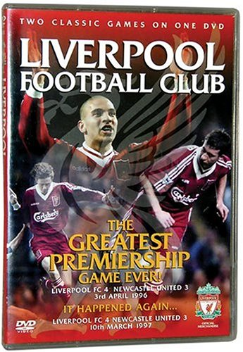 Liverpool FC The Greatest Game Ever Liverpool vs. Newcastle & It Happend Again DVD