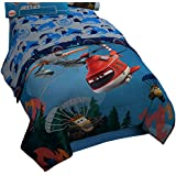 Disney/Pixar Planes Fire and Rescue Sheet Set, Twin, Smoke Jumper