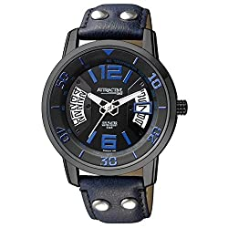 Q&Q Analog Black Dial Mens Watches - DA68J515Y