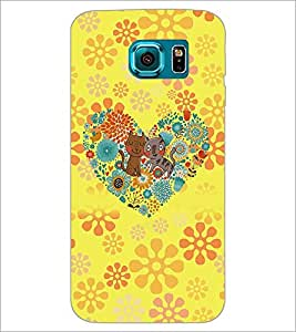 PrintDhaba Cartoon D-4517 Back Case Cover for SAMSUNG GALAXY S6 (Multi-Coloured)