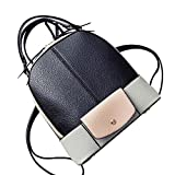 YAAGLE Women Girls Fashion PU Leather Backpack Shoulder Bag