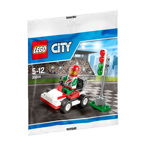 LEGO City Go-Kart Racer Mini Set #30314 [Bagged] - 1