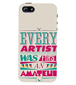 printtech Artist Back Case Cover for Apple iPhone 4::Apple iPhone 4S