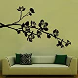 Flowers On Branch Wall Sticker Decal - B00RTJEZVU