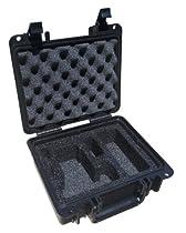 Canon EOS Rebel Waterproof Custom Cut Foam Hard Case for T5i, T4i, T3i & T3 EOS Rebel DSLR Cameras