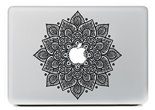 Vati Leaves Removable Lucky Flowers Cool Design Best Vinyl Decal Sticker Skin Art Perfect For Apple Macbook Pro Air Mac 13