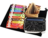 Hornet-Juicy-Fruit-Flavored-Cigarette-Rolling-Papers-78MM-1-14-Metal-Hand-Rolling-Machine-Case-Paper-TipsWith-Black-Velvet-Pouch10-Packs-Papers10-Packs-Paper-Tips-Rolling-Machine-Case