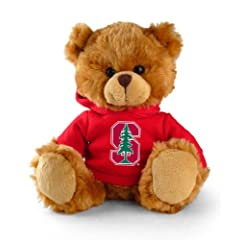 Buy NCAA Stanford Cardinal 8'' Plush Hoodie Bear by Football Fanatics