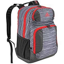 adidas Climacool Team Strength Backpack, Space Dye Deepest Space/Scarlet/Black, One Size