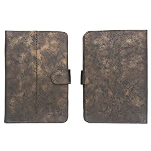 """7&Seven G6 METAL YB FLIP FLAP CASE COVER POUCH CARRY STAND BSNL PENTA WS708C 7"""" TABLET BROWN"""