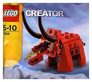 LEGO Creator: Triceratops Set 7604 (Bagged)
