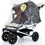 Mountain Buggy Duet TWIN Double RAINC...