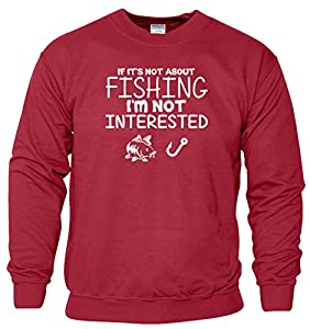 Mens Womens Boys Girls Ladies Unisex Fishing Sweater Hoodie Sweat Shirt Jumper Sports Casual Sweatshirt 'S M L XL XXL' Many Colors & sizes Available by SnS Apparel