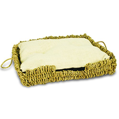 Ware Manufacturing Seagrass and Burlap Square Bed (Ware Seagrass compare prices)