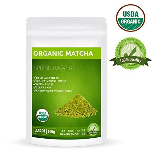 Orgánico japonés Matcha té verde en polvo - 100g