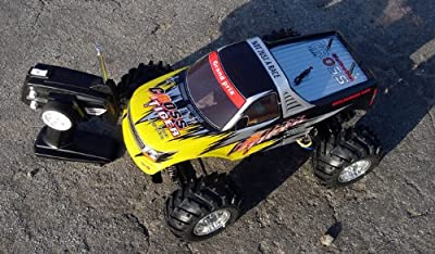 RC REMOTE CONTROL RADIO CONTROL Newest 4 by 4 Radio Control 1:10 Scale 4WD Racing Electric Monster Truck Ready to Run COLOR SENT AT RANDOM- COLORS VARY
