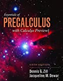 img - for Essentials Of Precalculus With Calculus Previews (Jones & Bartlett Learning Series in Mathematics) book / textbook / text book