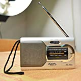 ELEGIANT Mini Tragbar AM / FM Teleskop Antenne Radio...