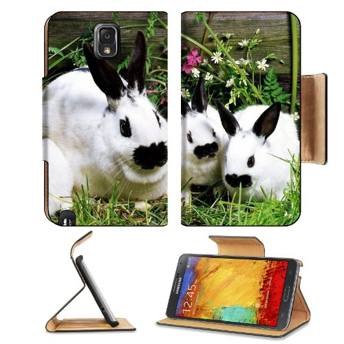 Rabbit Baby Cotton Tail Garden Pets Samsung Galaxy Note 3 N9000 Flip Case Stand Magnetic Cover Open Ports Customized Made To Order Support Ready Premium Deluxe Pu Leather 5 15/16 Inch (150Mm) X 3 1/2 Inch (89Mm) X 9/16 Inch (14Mm) Liil Note Cover Professi front-474169