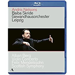 Berg: Violin Concerto; Mendelssohn: Scottish Symphony [Blu-ray]