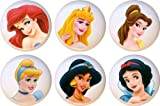 Disney Princess Drawer Pulls Knobs Set of 6