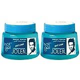 Jolen Wet Look Hair Gel (Twin Pack) 500 gm
