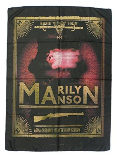 MARILYN MANSON-Bandiera ufficiale del prodotto tessile, TARO-POSTER