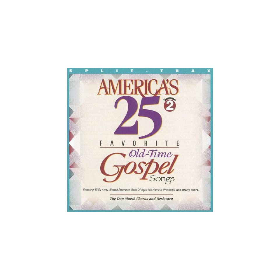 Old Time Gospel Songs Volume Two (9780760103470) Brentwood Music on
