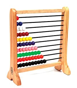 Skillofun Abacus Junior (1-10), Multi Color