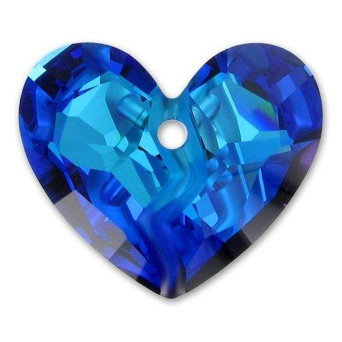 Cuore Swarovski Forever 1 6263 mm. 36 Crystal Bermuda Blue x1