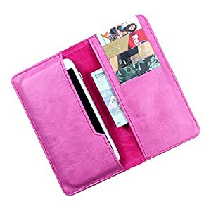 Dooda PU Leather Flip Pouch Case For Intex Aqua Star HD