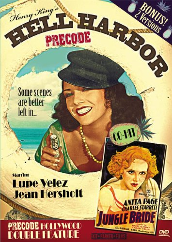 Cover art for  Precode Hollywood Double Feature: Hell Harbor & Jungle Bride